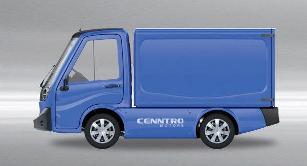 Elektrische-Vrachtauto